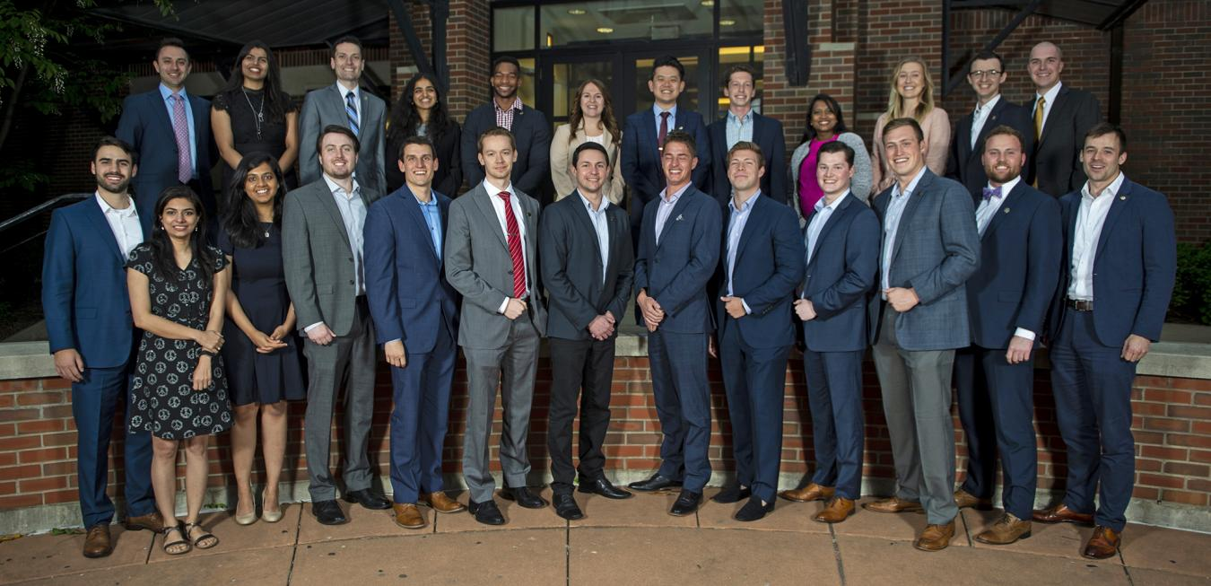 Image: Crosby MBA group photo