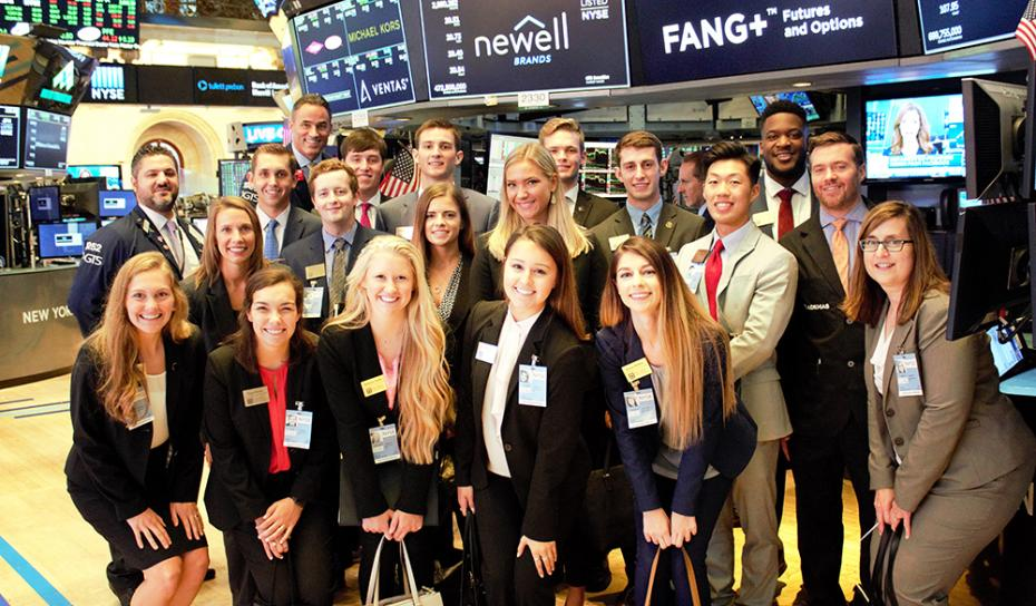 Image: CLP at the New York Stock Exchange