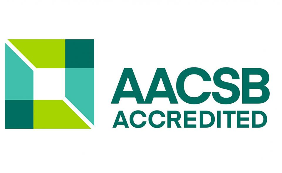 Graphic: AACSB logo