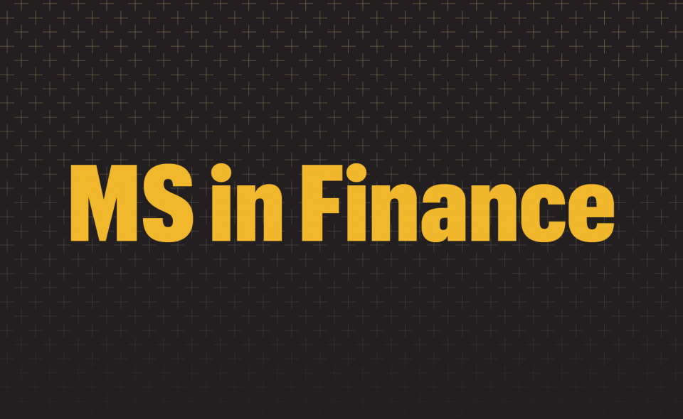 Graphic: MS in Finance