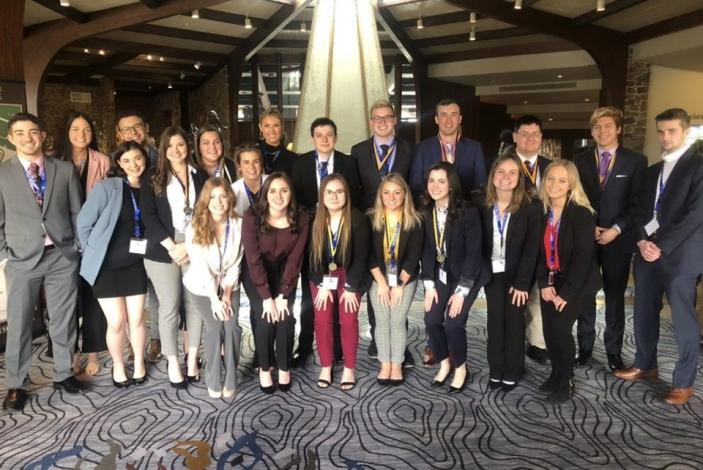 Image: MU Collegiate DECA group