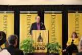 Image: MU Alumnus Jim Pace announced a $1.5 million gift to improve business practices at the University of Missouri.
