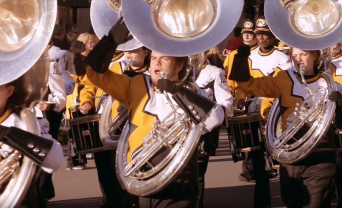 Image: Mizzou Marching Band