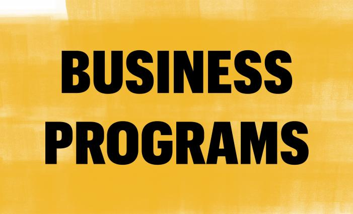 Graphic: Business Programs at Trulaske
