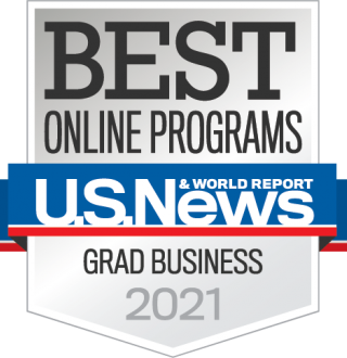 USNWR Best Online Graduate Programs Badge